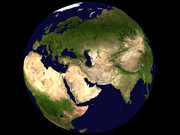 Blue Marble: View of the eastern hemisphere