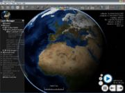 World Wind 1.4.0 showing Blue Marble Next Generation layer
