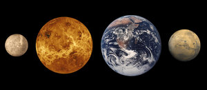 figure 1 - Mercury, Venus, Earth, Mars