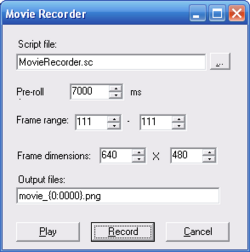 Movie Recorder Plugin