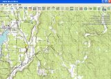 An example of the display after the USGS Topo Maps data download for 48N 122W is complete
