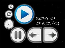 figure 17 - Time Controller widget